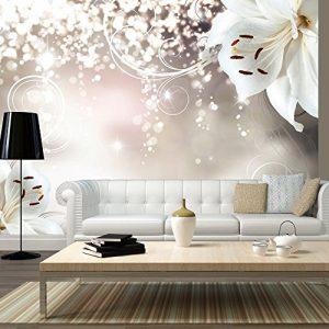 Vlies Fototapete 350×245 cm – 3 Farben zur Auswahl – Top – Tapete – Wandbilder XXL – Wandbild – Bild – Fototapeten – Tapeten – Wandtapete – Wand – Blumen b-A-0012-a-b