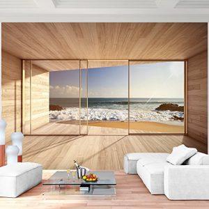 Vlies Fototapete 352×250 cm – 9051011a 'Fenster zum Meer' RUNA Tapete