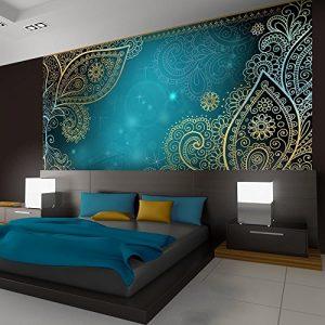 Vlies Fototapete 300×210 cm – 3 Farben zur Auswahl – Top – Tapete – Wandbilder XXL – Wandbild – Bild – Fototapeten – Tapeten – Wandtapete – Wand – Orient Ornament f-A-0146-a-b
