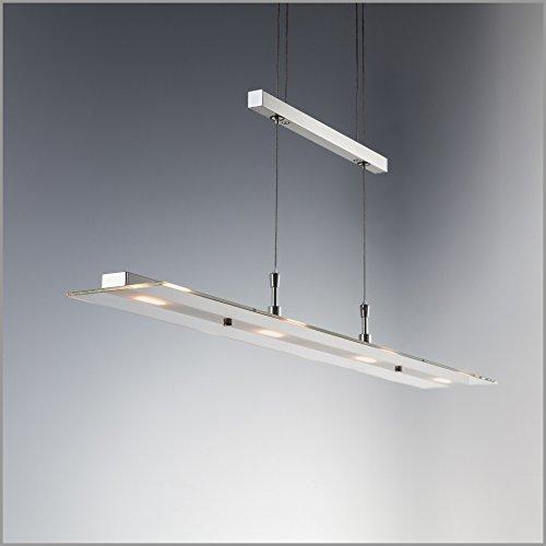 LED Pendelleuchte Hngelampe Dimmbar Tastdimmer An Der Hngeleuchte Wohnzimmerlampe Pendel