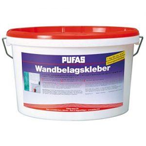 Pufas Wandbelagskleber 10kg Kleber für schwere Wandbeläge Tapeten Glasgewebe