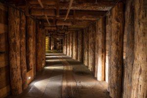 Fototapete Salzbergwerk Polen Größe: 400x280cm Tapete Salz Bergwerk Untertage KT289 wandmotiv24