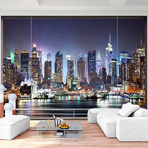 Vlies Fototapete 352x250 cm - 9026011b 'Fenster nach New York' RUNA Tapete