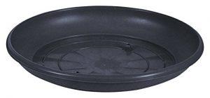 greemotion Untersetzer, Harmonie  Durchmesser 50cm, 50x50x7.5 cm, anthrazit, 124335