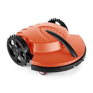 oneConcept Garden Hero Rasenmäher Rasenmähroboter Akku-Mähroboter (für Flächen bis 1.500m², automatisches Wiederaufladen, 3cm oder 4cm Schnitthöhe, 28cm Schnittbreite) orange