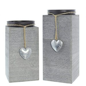 "Kerzenhalter ""Little Heart"" 2er Set"