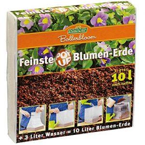 ROMBERG 76540K Zimmerblumen Erden 10 L Pop Up Packung