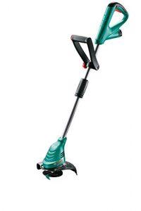 Bosch DIY Akku-Rasentrimmer EasyGrassCut 12-230, Akku, Ladegerät, Messer, Pflanzenschutzbügel, Karton (12 V, 2,0 Ah, 23 cm Schnittkreisdurchmesser)