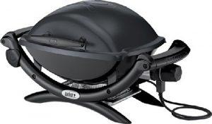 Weber 52020053 Grill, Q1400 – Elektro, 66x49x62 cm, grau