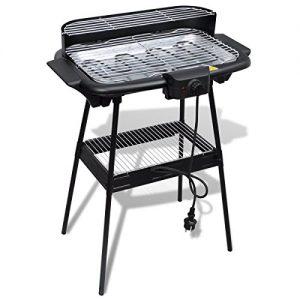 vidaXL Grill BBQ Standgrill Barbecue Tischgrill Elektrogrill Gartengrill