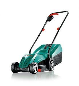 Bosch Rasenmäher ARM 32, Karton, Grasfangkorb 31 l, Schnittbreite 32 cm, Schnitthöhe 20-60 mm (1200 Watt)