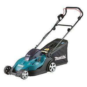 Makita dlm431pt2Push Lawn Mower Black, Blue Lawn Mower Lawn Mowers (Push Lawn Mower, 1000m², 4.3cm, 50l, 2cm, 7.5cm)