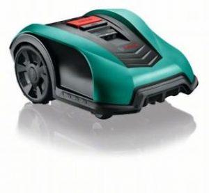 Bosch Indego 400Connect 06008b0101Roboter Elektrischer Rasenmäher, kabellos, Mulchfunktion, SCHWIMMBADSAUGER Schnitt 19cm