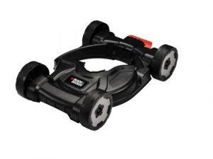 Black+Decker 3-in-1 City Mähaufsatz (40-60 mm Schnitthöhe für Rasentrimmer STC1820, STC1815, ST5530, ST4525, GL5028, CM100)