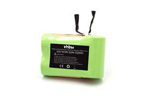 vhbw NiMH Akku 3000mAh (3.6V) für Staubsauger Black & Decker V3610 wie V3610.