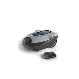GARDENA smart SILENO+ Mähroboter Set: Automatischer Rasenmäher für Flächen bis 1300m², steuerbar per SmartPhone und App, meistert Steigungen bis zu 35%, geräuscharm, passt Mähfrequenz an (19061-60)