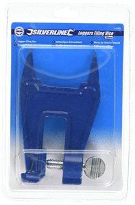 Silverline 581903 Kettensägen-Schraubstock 16 mm