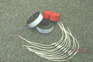 10 Fäden + 2 Spulen + 1 Fadenhalter passend für EINHELL Elektro Rasentrimmer RT 5030