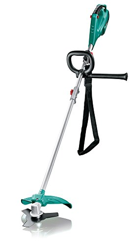 Bosch Freischneider AFS 23-37 (3-Flügel-Messer, Spule für Schneidfäden, 3 Schneidfäden, Zusatzgriff, Schutzhaube, Karton, 950 Watt)
