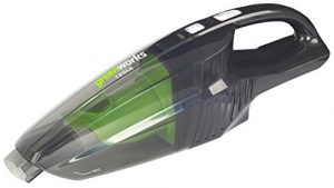 Greenworks Tools 4700007Handstaubsauger Kabellos, Li-Ion, ohne Akku oder Ladegerät, 24V, grün