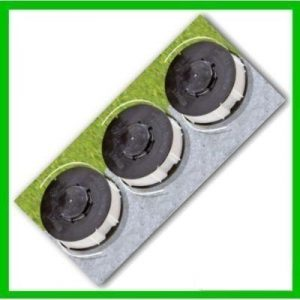 3 x Ersatzfadenspule für Rasentrimmer Fadenspule Gardenline – Einhell – King Craft – Top Craft
