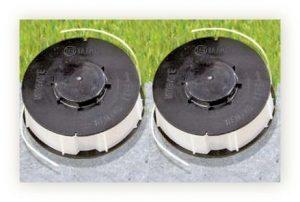 2 x Ersatzspule für Rasentrimmer – Ersatzfadenspule Gardenline – Einhell – King Craft – Top Craft