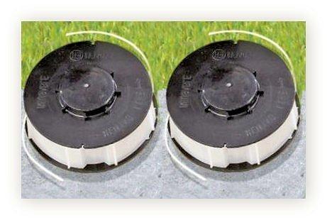 2 x Ersatzspule für Rasentrimmer - Ersatzfadenspule Gardenline - Einhell - King Craft - Top Craft