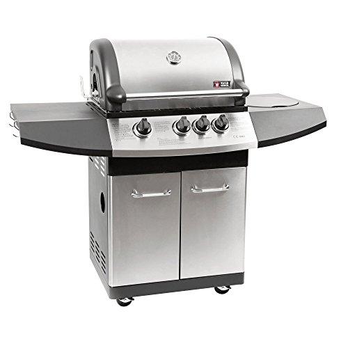 Mayer Barbecue ZUNDA Gasgrill MGG-331 Pro mit Seitenbrenner