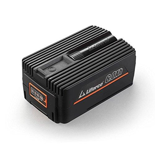 Redback 40V 6Ah Akku Batterie EP60 Samsung Lithium Ionen Liforce Batteriezellen - extrem belastbar bei geringstem Energieverlust; Kapazität: 6.0Ah (240Wh); Kein Ladeverlust bei längerer Nicht-Nutzung!