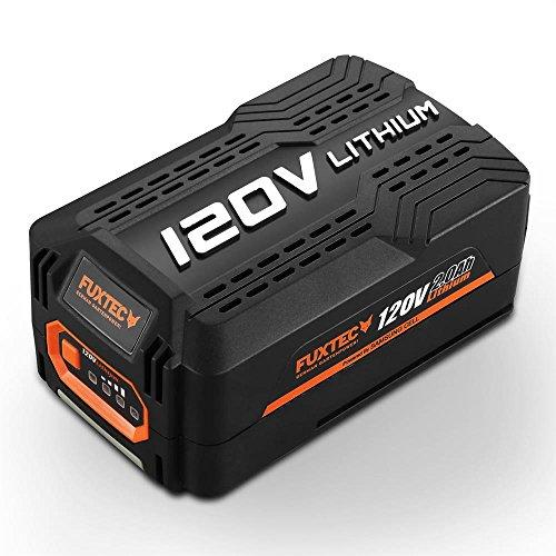 FUXTEC 120V 2Ah Akku Batterie EA20 Samsung Lithium Ionen Liforce Batteriezellen - extrem belastbar bei geringstem Energieverlust; Kapazität: 2.0Ah (240Wh); Kein Ladeverlust bei längerer Nicht-Nutzung!
