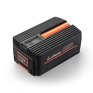 Redback 40V 4Ah Akku Batterie EP40 Samsung Lithium Ionen Liforce Batteriezellen – extrem belastbar bei geringstem Energieverlust; Kapazität: 4.0Ah (160Wh); Kein Ladeverlust bei längerer Nicht-Nutzung!