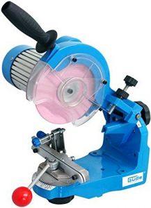 Schärfmaschine / Sägekettenschleifer für Kettensäge mit 2Ersatz-Klammern