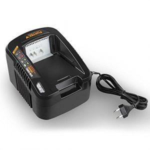FUXTEC 120V 3,5Ah Akku Batterie Ladegerät EC440 zum laden der Samsung Lithium Ionen Liforce Batteriezellen EA20 und EA30, Ausgangsstrom: 3.5A , Eingangsleistung 550W Schutzklasse II, IPX0