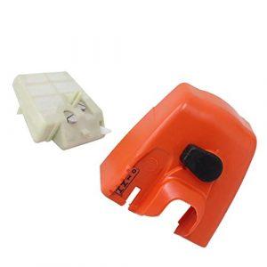 MagiDeal Luftfilter + Luftfilterreiniger Abdeckung Passend Für Stihl 024 Ms260 Kettensäge