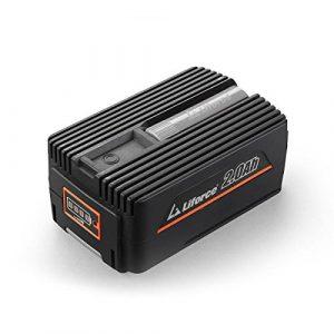 Redback 40V 2Ah Akku Batterie EP20 Samsung Lithium Ionen Liforce Batteriezellen – extrem belastbar bei geringstem Energieverlust; Kapazität: 2.0Ah (80Wh); Kein Ladeverlust bei längerer Nicht-Nutzung!