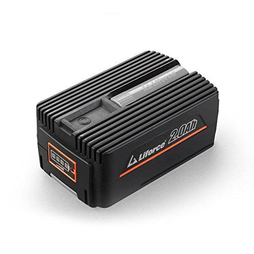 Redback 40V 2Ah Akku Batterie EP20 Samsung Lithium Ionen Liforce Batteriezellen - extrem belastbar bei geringstem Energieverlust; Kapazität: 2.0Ah (80Wh); Kein Ladeverlust bei längerer Nicht-Nutzung!