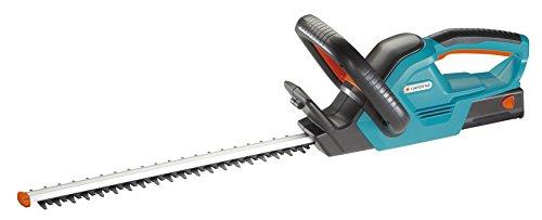 GARDENA EasyCut 42 Akku Heckenschere: Strauchschere für saubere Schnitte, handlicher Griff, Anschlagschutz für Sicherheit bei bodennahmem Schneiden, inkl. NiMH Akku und Ladegerät (8872-20)