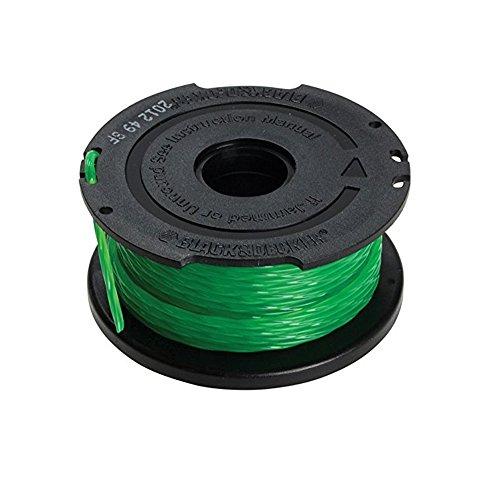 Black+Decker Fadenspule Reflex (6 m Fadenlänge 2 mm Fadenbreite, passend für Motorsensen GL8033, GL9035, STB3620L, STC5433, STC5433B, A6482)