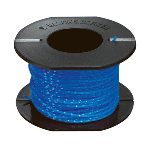 Black+Decker Fadenspule Reflex Plus (2,5 m Länge, 1,5 mm Durchmesser, für Rasentrimmer von Black + Decker) A6440