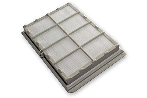 vhbw Ersatz Hepa Allergie Abluft Filter für Staubsauger Siemens Bosch Dino, E320 Super, E730 Super, Evolution Power Editon wie VZ54000, 263506, 460474