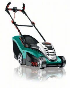 Bosch DIY Akku-Rasenmäher Rotak 37 LI, Akku, Ladegerät, Grasfangbox 40 l (36 V, Ergoflex-System, Schnittbreite 37 cm, Schnitthöhe 20-70mm)