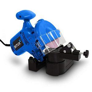 BITUXX® Sägekettenschärfgerät Kettenschärfer Schärfgerät Kettenschleifer Kettensägen Schärfgerät Motorsägenschärfgerät Kettensägeschärfgerät