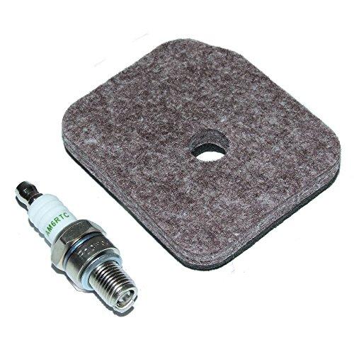 Air Filter & Zündkerzen passend für Stihl hs81r hs81t hs86r hs86t Heckenschere Trimmer Cutter