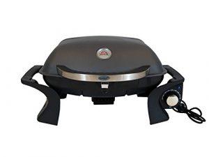 Traedgard® Gemini-E Elektro Tischgrill Elektrisch | Elektrogrill mit 2200 Watt | Grill mit Fettauffangschale | Inkl. Schutzhülle