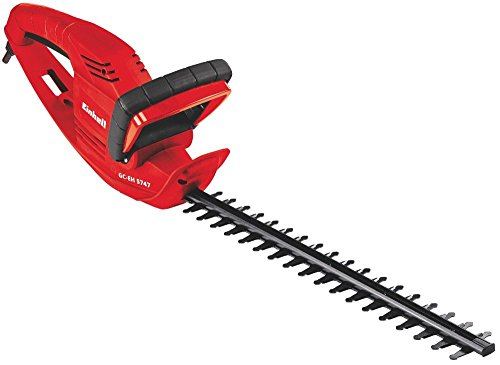 Einhell Elektro Heckenschere GC-EH 5747 (570 W, 465 mm Schnittlänge, 18 mm Zahnabstand, Kabelzugentlastung)