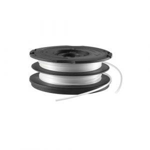 Black+Decker vollautomatische Doppelfadenspule Reflex Plus (1,5 mm Durchmesser 2×6 Meter Länge für maximale Leistung) A6495