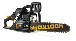 McCulloch 00096-76.247.14 Benzin-Kettensäge CS35S, schwarzorange
