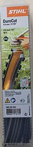 STIHL Fadenstücke DuroCut 40-4 gezahnt 215 mm 48 Stück XXL