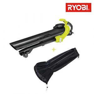 Pack Laubbläser aspiro-broyeur Elektrische Ryobi 3000W 3in1rbv3000cesv–Sammler von Blatt Universal rac365