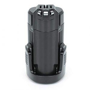 REEXBON 10.8V 2000mAh Li-Ion Ersatzakku für Bosch PMF 10.8 LI, PSR 10.8 Li-2, PSM 10.8 LI, 2 607 336 863, 2 607 336 864